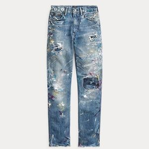 Ralph Lauren the Reese High Rise Straight jeans